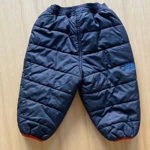 The North Face Puffer Snow Pants Infant Size 3-6 M